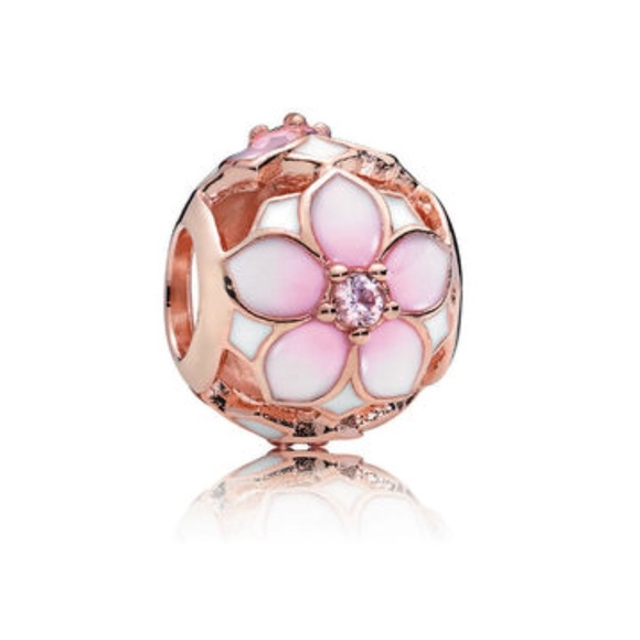 charms pandora rose